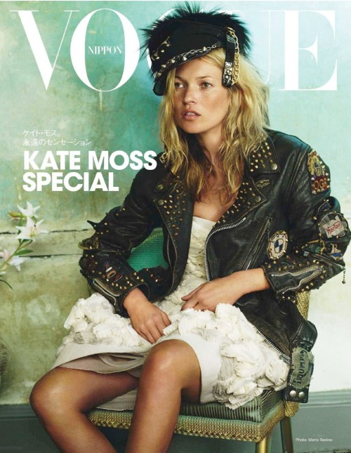 kate moss vogue nippon cover jan 2011