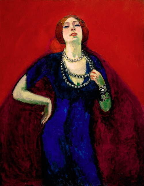 Kees van Dongen, The Blue Dress, 1911