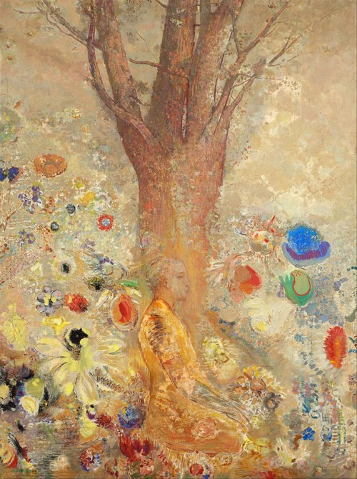 Odilon Redon, The Buddha, 1904