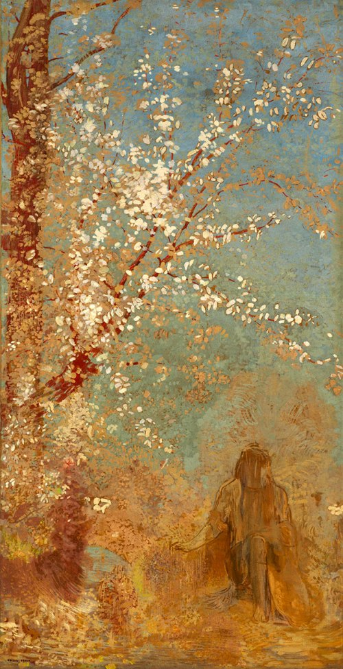 Odilon Redon, The Red Tree, 1905