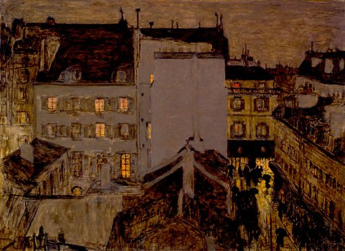 Pierre Bonnard, Montmartre in the Rain, 1897