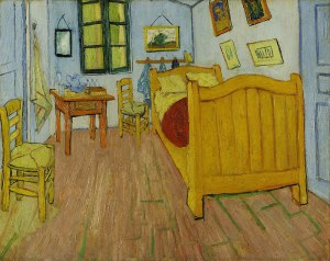 The Bedroom, Vincent van Gogh, 1888